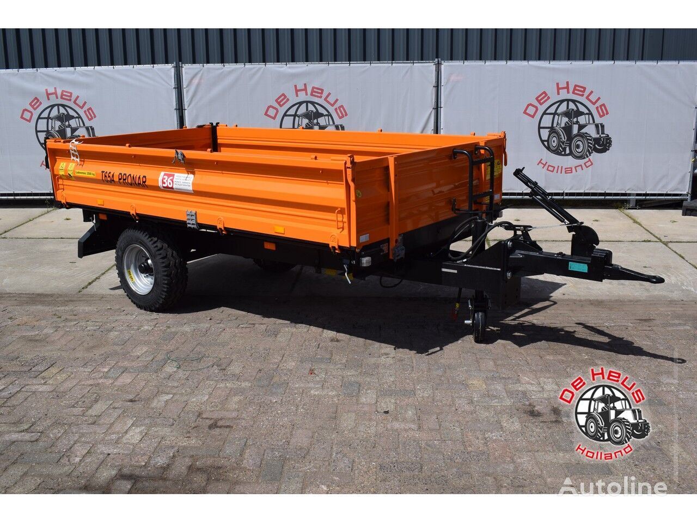 new PRONAR T654 dump trailer