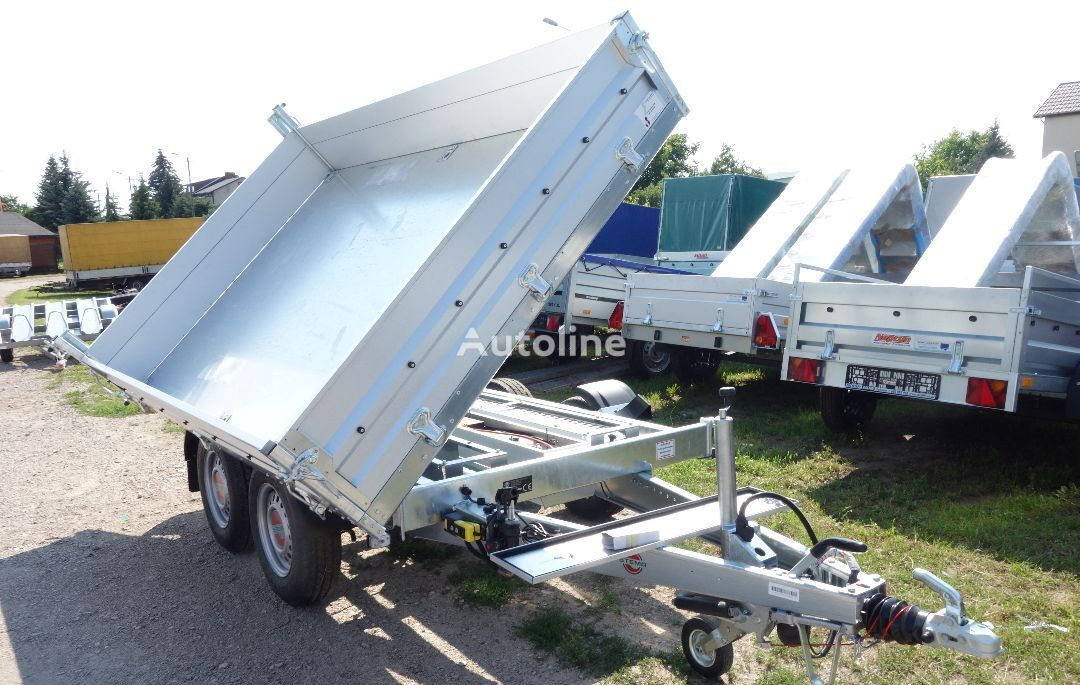 new Stema dump trailer