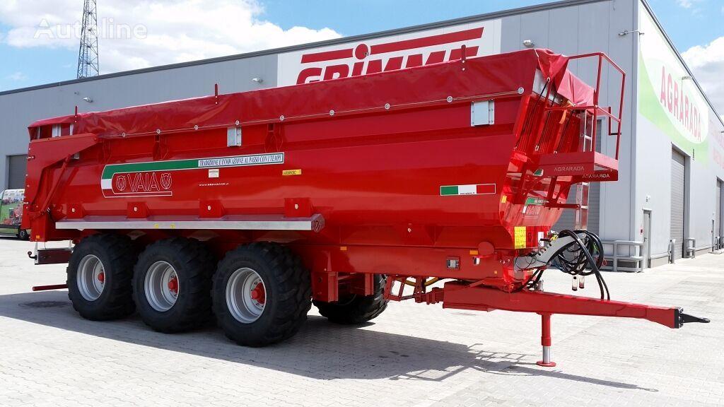 new VAIA ANL 28 dump trailer