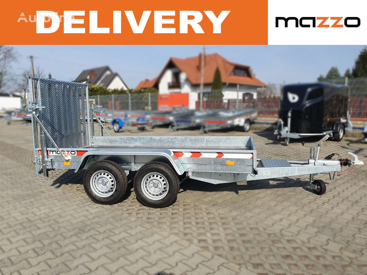 new BAGGERMAX 3.0T for MINI EXCAVATORS equipment trailer