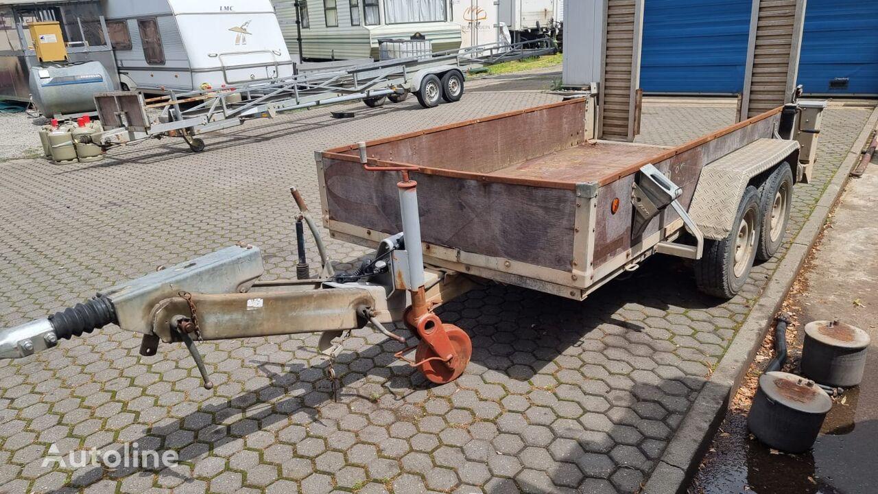 Barthau Minibaggertransport Nutzlast 2746 kg mit Rampen  equipment trailer