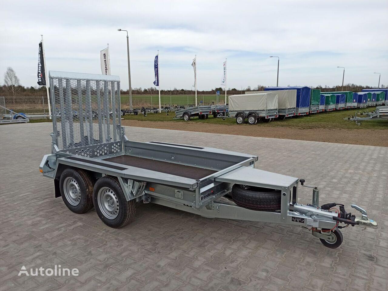 new Brenderup MT2600 260x127cm koparka equipment trailer