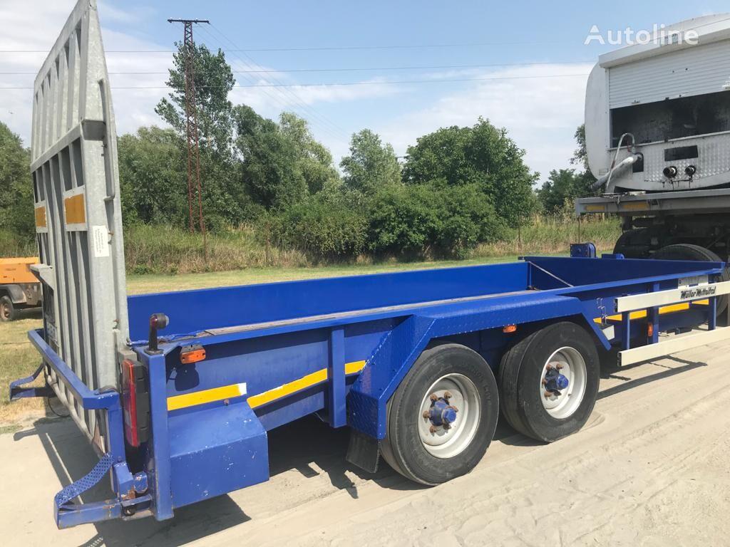MULLER-MITTELTAL ETS-TA-B 10.7 equipment trailer