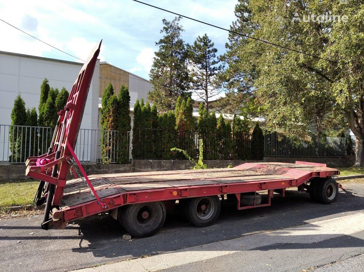 GOLDHOFER TÜ 3-24/80 equipment trailer