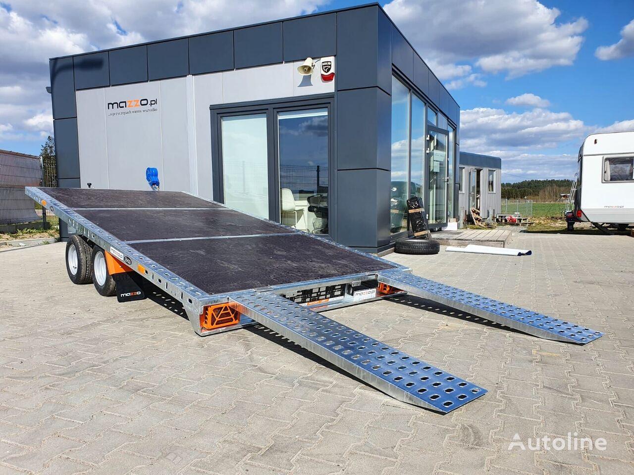 new M Gravity  equipment trailer