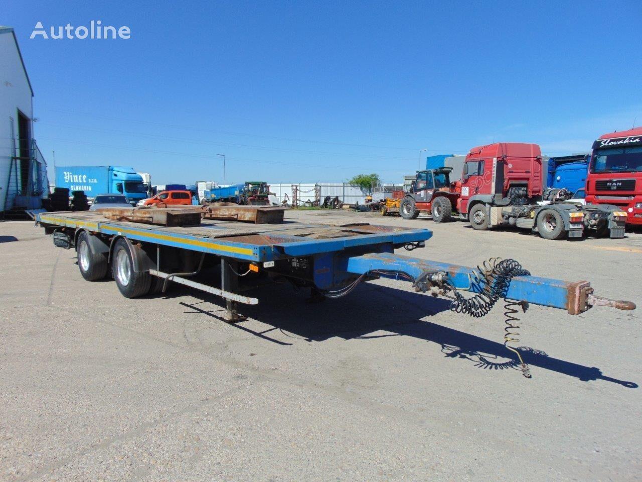 SAMRO príves na prepravu strojov VIN 577 equipment trailer