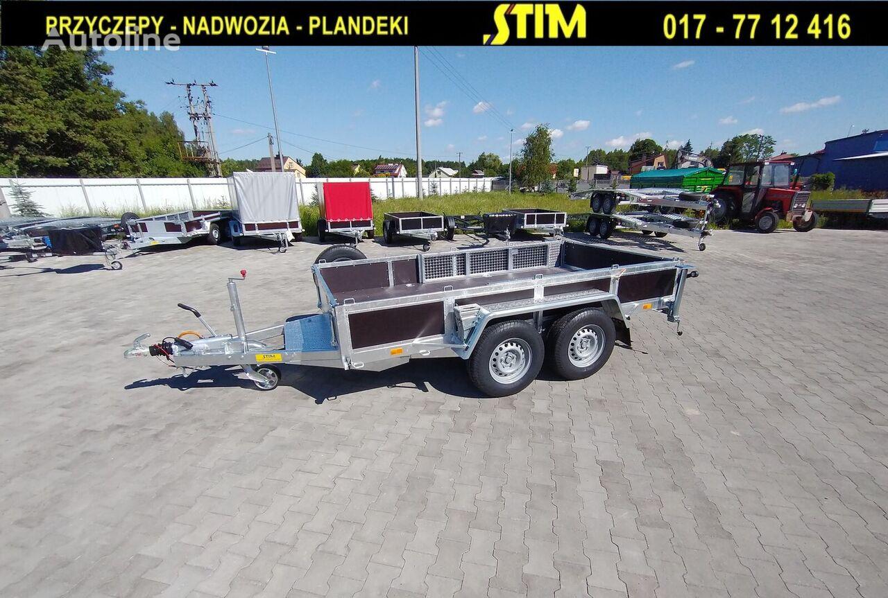 new STIM S22, przyczepa do przewozu sprzętu budowlanego equipment trailer