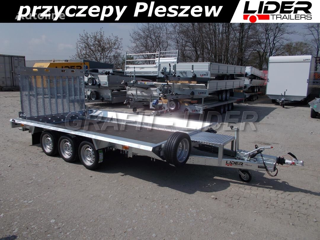 new TEMARED TM-211 przyczepa 394x182x25cm, builder 3 4018/3 NEW, do przewozu equipment trailer