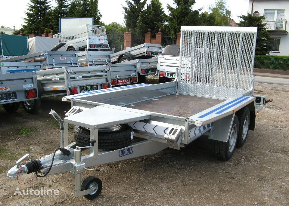 new other Lorries Przyczepa TPM27 313x160cm 2700 kg koparka bobcat equipment trailer
