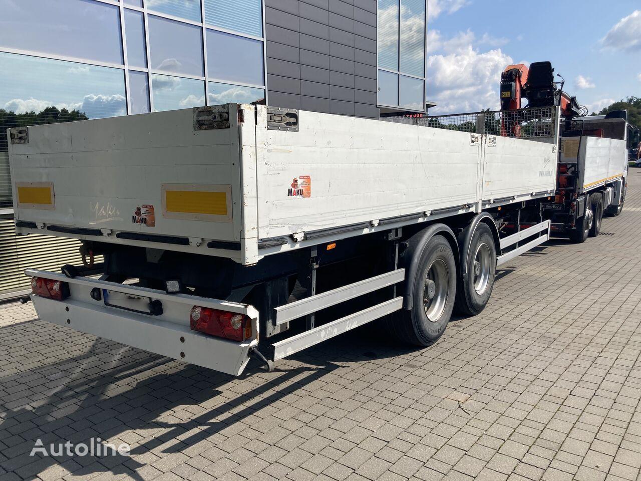 KÖGEL SVKT24 flatbed trailer