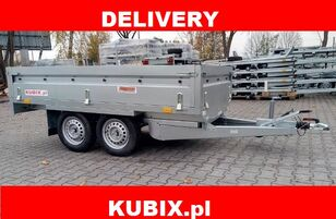 new NEPTUN Twin-axle braked trailer Neptun GN156, N13-263 2 kps, GVW 1300kg flatbed trailer