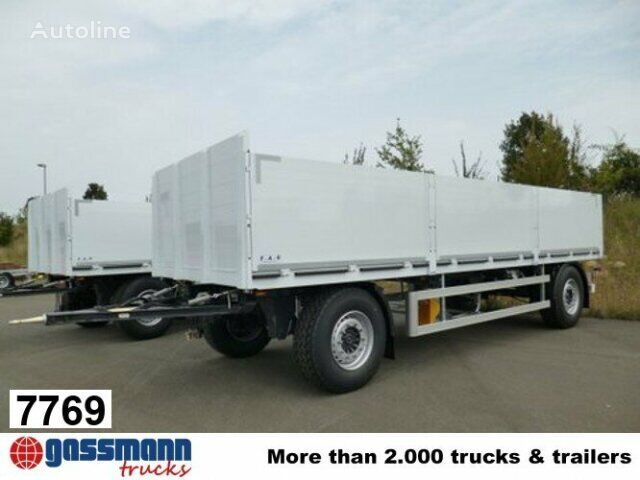 new Andere APR 18 FAG APR 18 flatbed trailer