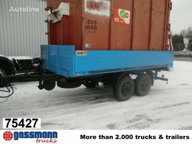 GOEBEL & SOHN TA8 flatbed trailer