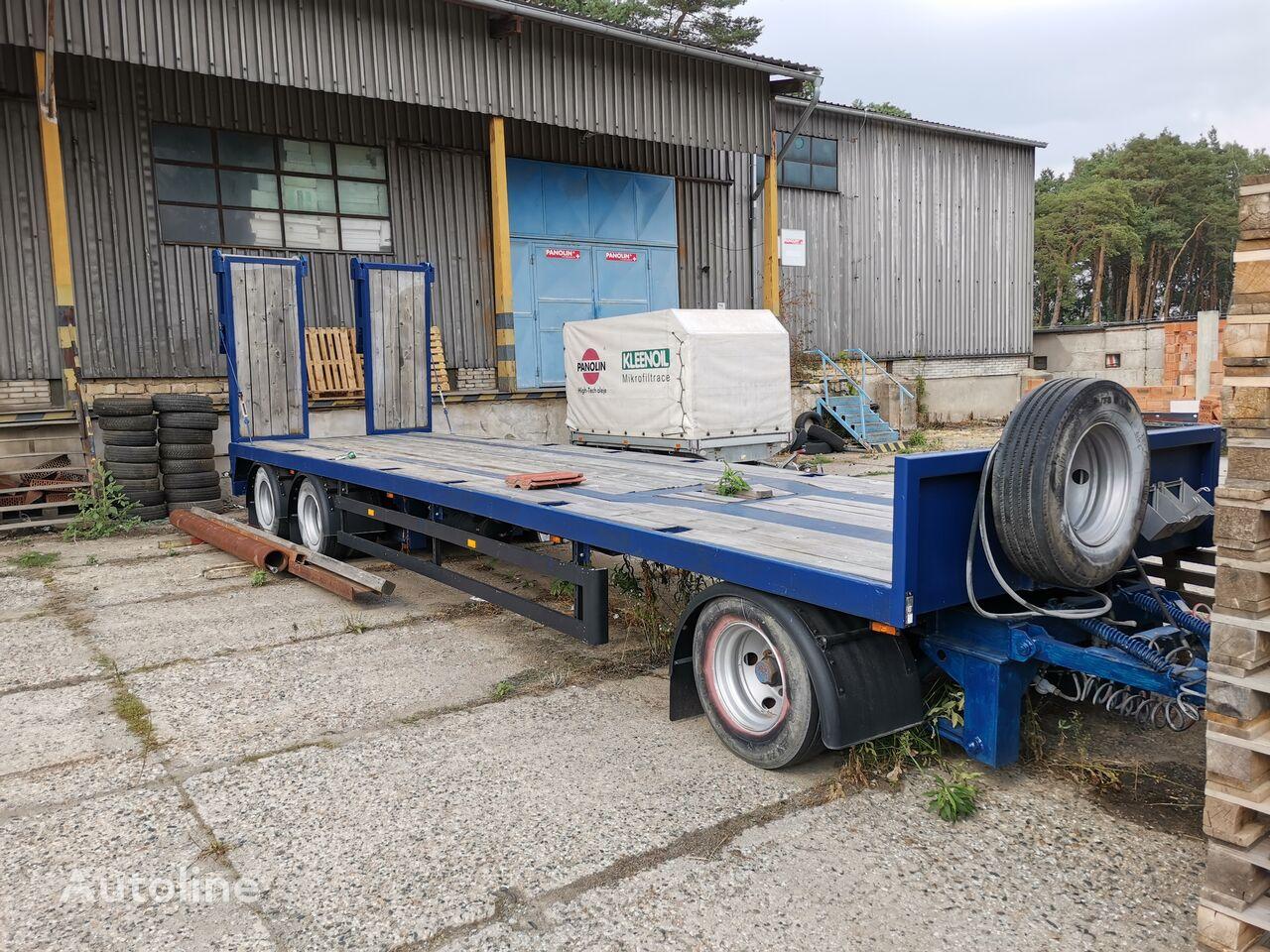 GOLDHOFER TP-L 3-24/80 flatbed trailer for parts