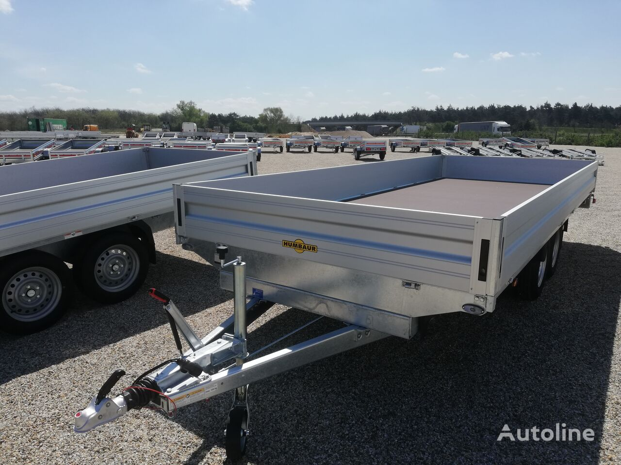 new HUMBAUR HT 355221 flatbed trailer