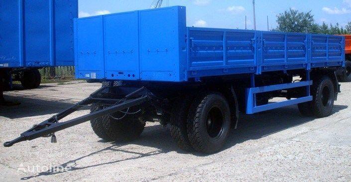 new KAMAZ SZAP-8357-02 flatbed trailer