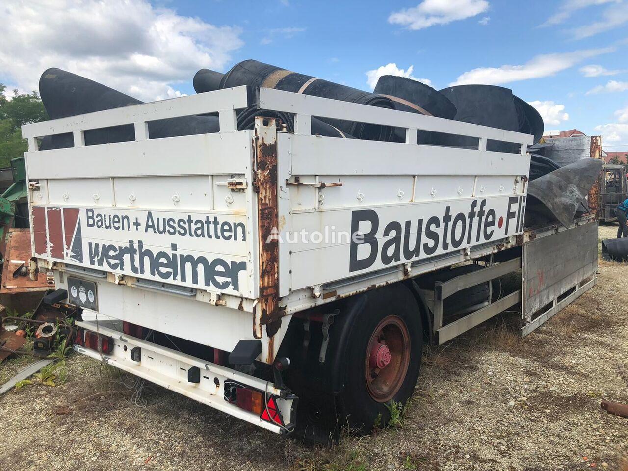 KASSBOHRER V14L flatbed trailer