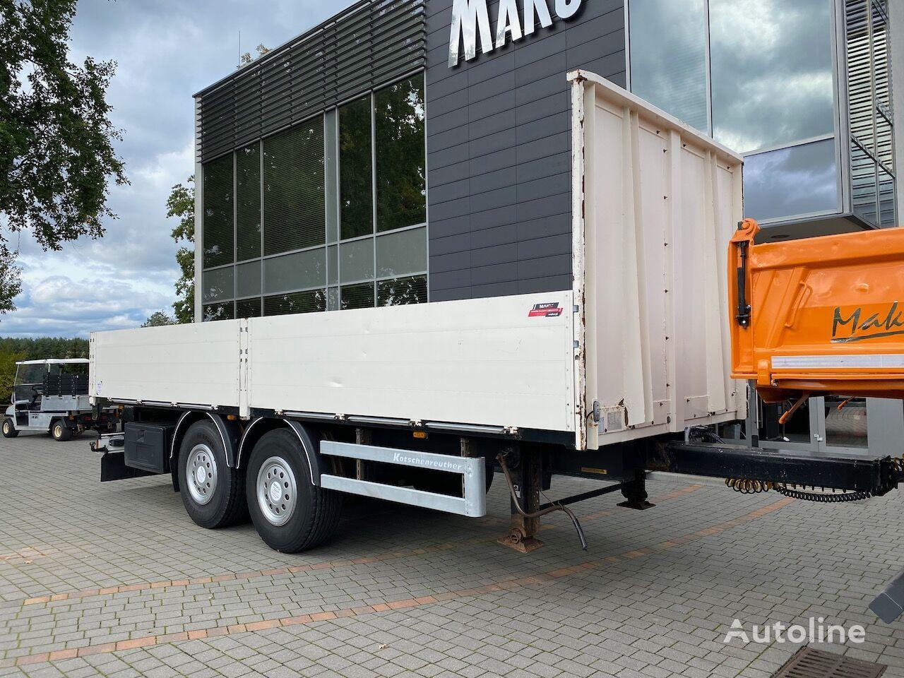 KOTSCHENREUTHER TPM 218  flatbed trailer