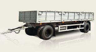 new MAZ 837810 flatbed trailer
