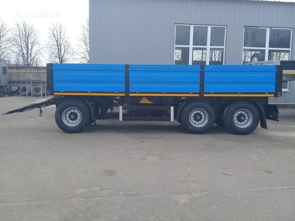 new VARZ PM 1807 flatbed trailer
