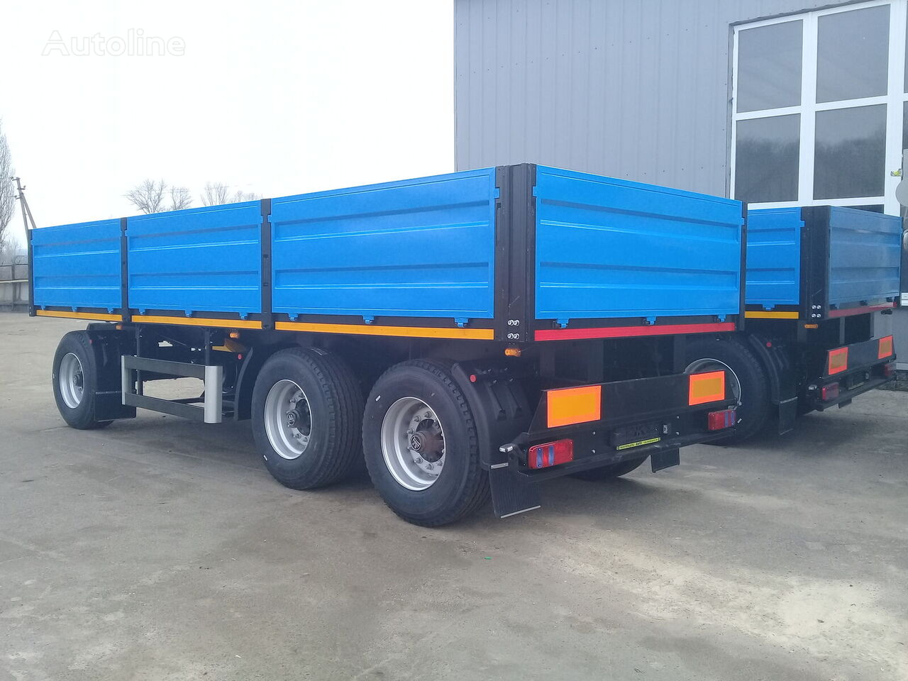 new VARZ PM 1810 flatbed trailer