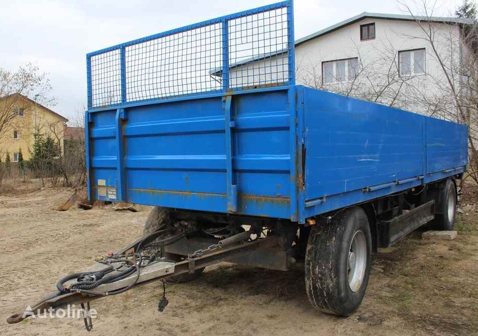 WELLMEYER PA18 flatbed trailer