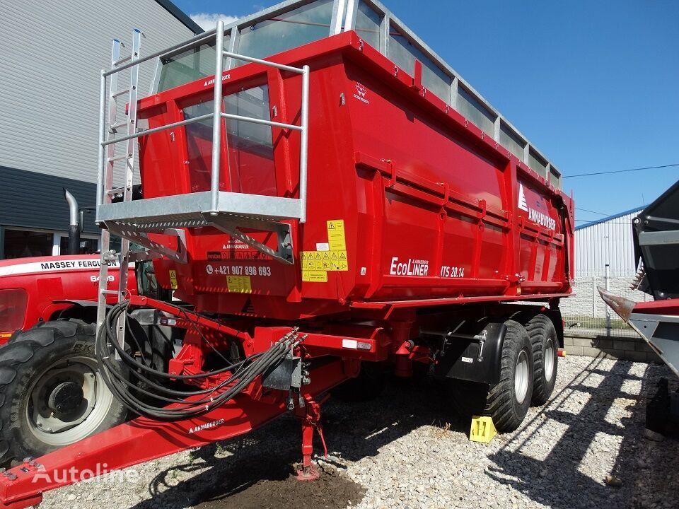 ANNABURGER HTS 20.14 EcoLINER grain trailer