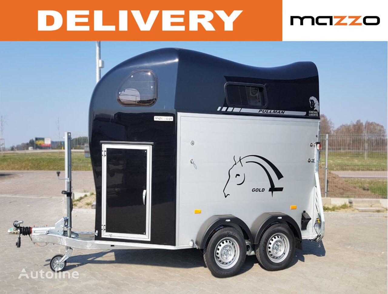 new Cheval liberte Gold II - two horses trailer horse trailer
