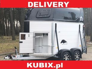 new NIEWIADOW Mustang-Strong K2022HTC – aluminium horse trailer with tack room horse trailer