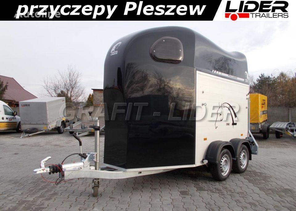 new Cheval liberte CL-46 przyczepa Cheval Liberte Gold One, do przewozu 1 konia, si horse trailer