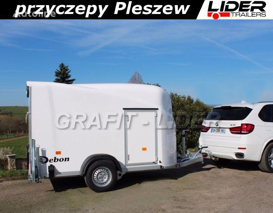 new Cheval liberte DB-002 bagażowa, do motocykli 300x150x170cm, hamowana Debon Chev horse trailer