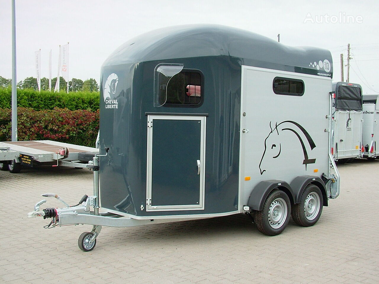 new Cheval liberte Przyczepa dwukonna Przyczepa Aluminowa model GOLD lll horse trailer
