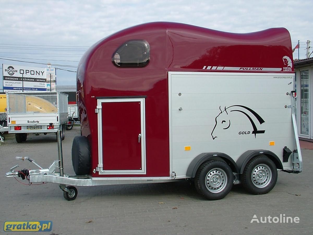 new Cheval liberte Przyczepa dwukonna Przyczepa aluminiowa model GOLD TWO horse trailer