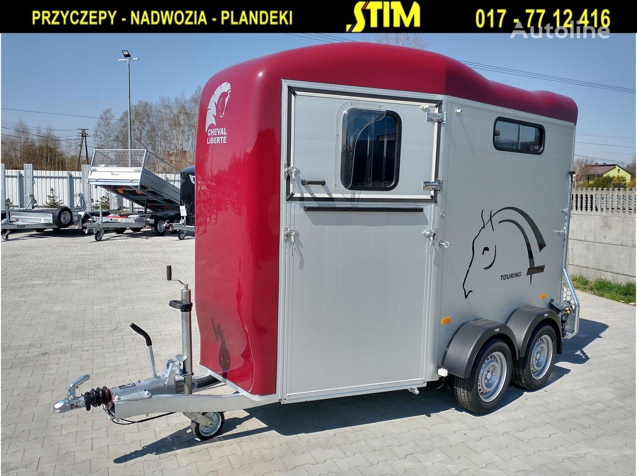 new Cheval liberte VDK20, Liberte Touring Country horse trailer