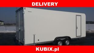 new Tomplan TFS 550T.00 DMC 2700kg insulated double axle van isothermal trailer