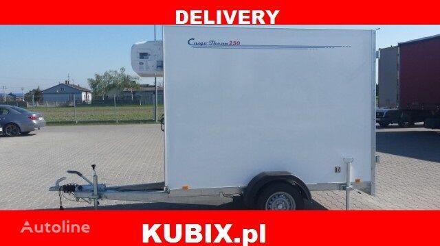 new CARGO THERM TFI 250.00 PRZYCZEPA IZOTERMA 2,5x1,25x1,8 isothermal trailer