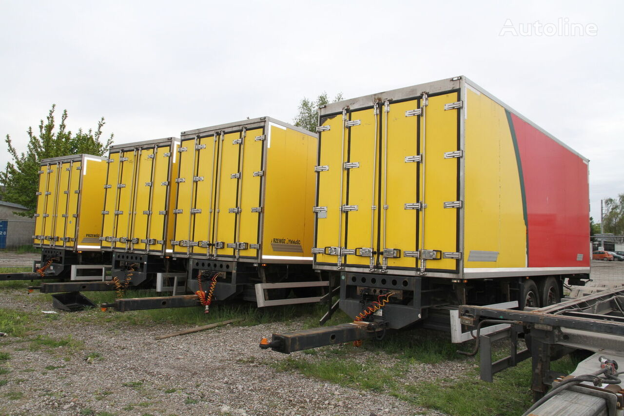 WIELTON TRAILER PC-2 ISOTHERMAL CONTAINER BOX isothermal trailer