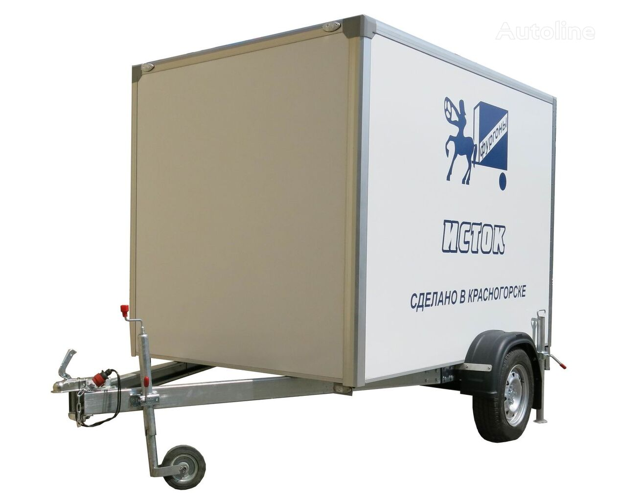 new ISTOK 3791M2 isothermal trailer