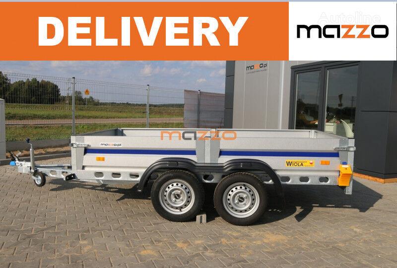 new SILEZIA plus STRONG 292 x 142 x 38 cm 750kg light trailer