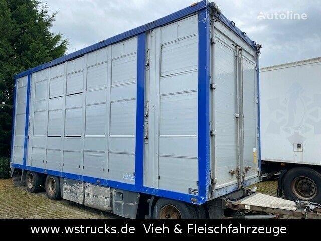 Menke-Janzen Stock Ausahrbares Dach Vollalu Typ 2 livestock trailer