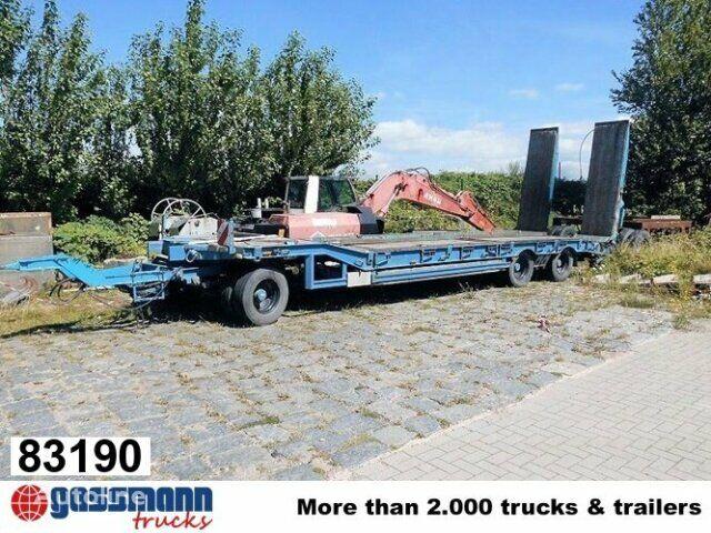 MULLER-MITTELTAL T 3 mit hydr. Rampen, Verbreiterbar  low loader trailer