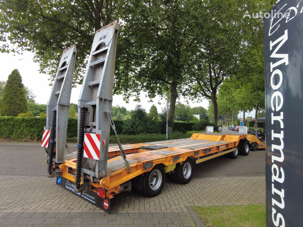 MULLER-MITTELTAL T4 Profi 40.0 low loader trailer