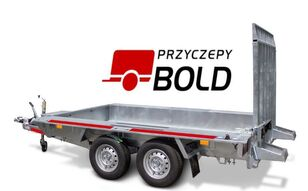 new TEMARED BUILDER 3 3015 low loader trailer