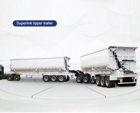 TITAN Trailers BAUXITES CARRYING TRAILER TRUCK  low loader trailer