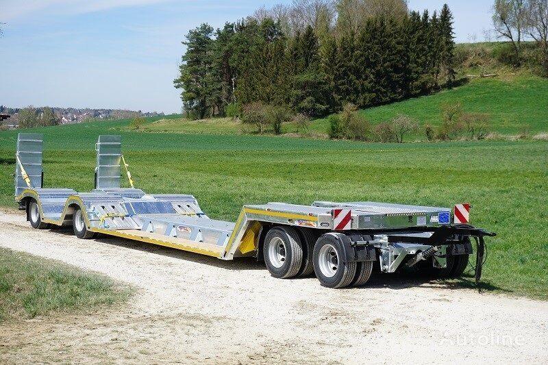 new DEMMLER FPF 40 low loader trailer