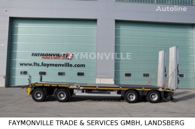 new FAYMONVILLE MAX TRAILER MAX600-S-4-9.30-U low loader trailer