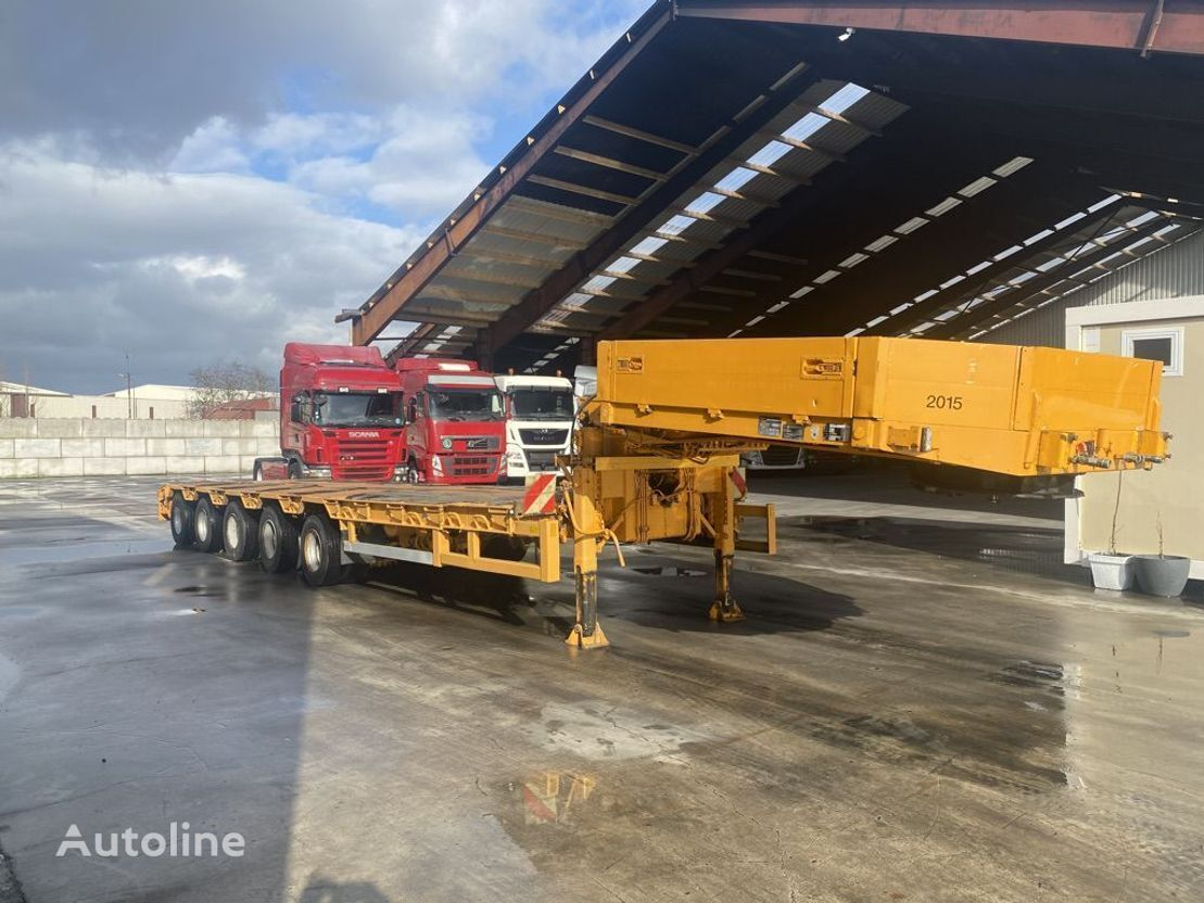 GOLDHOFER STZ-L5-55/80 * 2x Extendable * Remote Control * All Axle Steerin low loader trailer