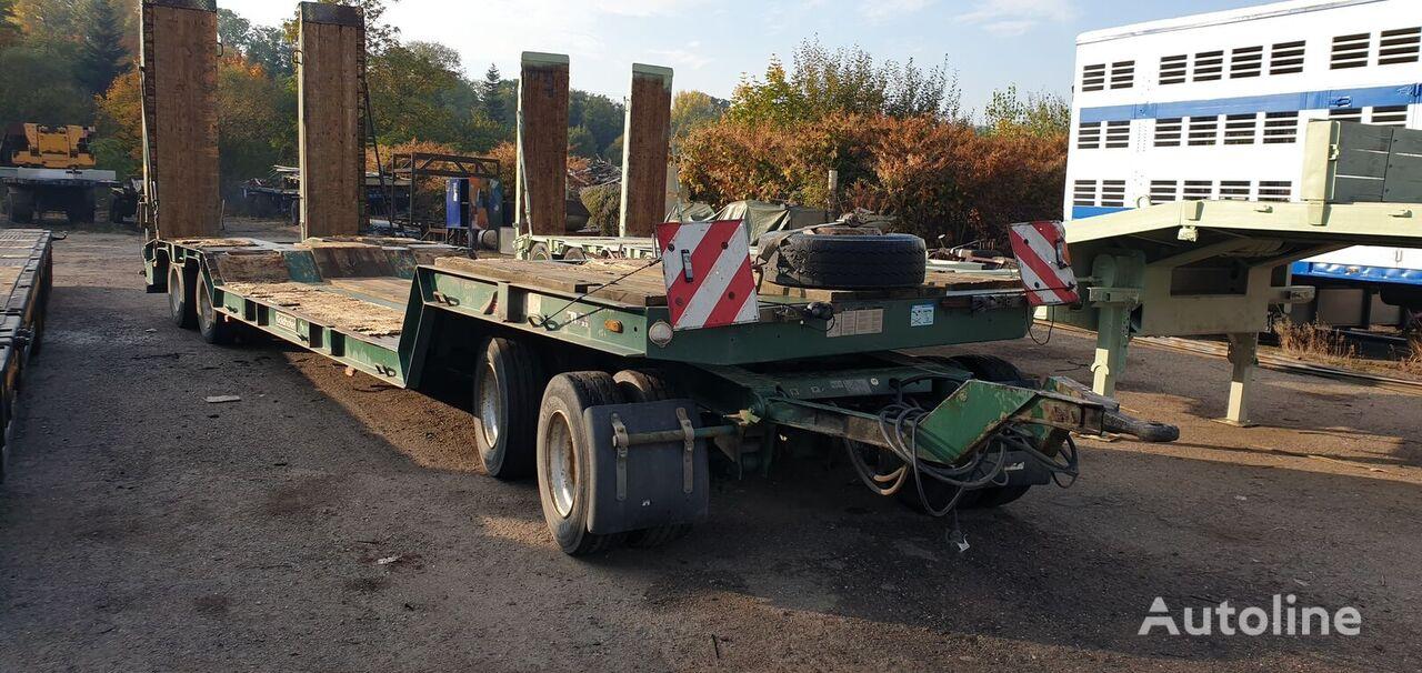 GOLDHOFER TU-T4-30/80 low loader trailer