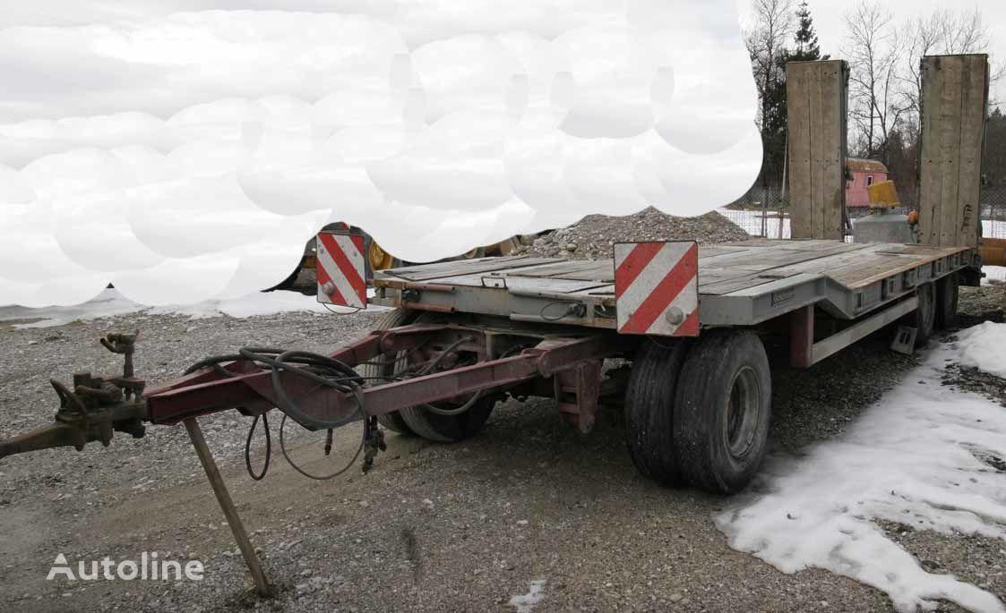 GOLDHOFER TU3-24/80 low loader trailer