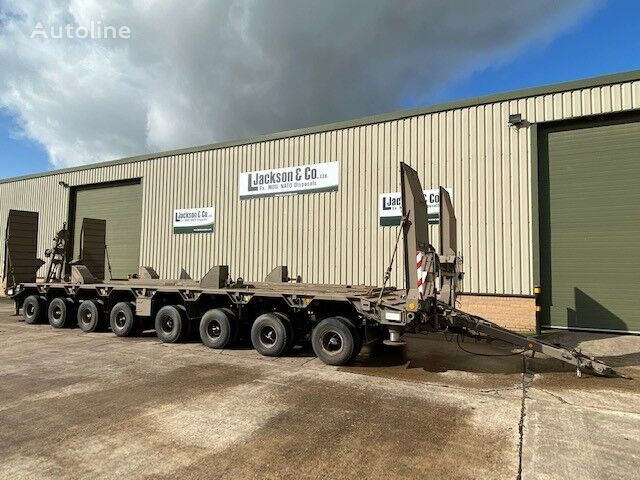 GOLDHOFER TUEAH 8-55/80 8 Axle Draw Bar Trailer low loader trailer